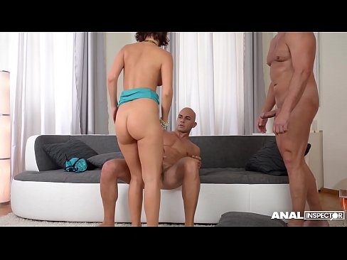 anal gangbang of tina hot has her multi-dicksucking and dpd by four guys