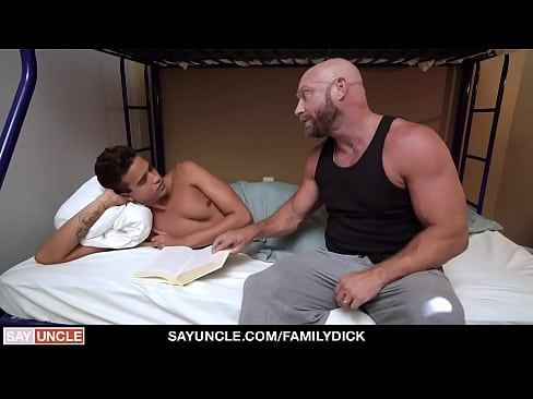 Hot Stepdaddy Killian Knox Offers His Help To Make Stepson Feels Better