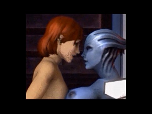 XVIDEOS mass effect meets blue is the only colour free