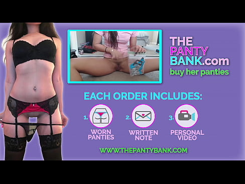 Teen masturbates for other men while her boyfriend records her. Louding moaning and orgasm - The Panty Bank | Buy Used Panties