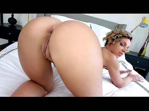 MILF babe with a big round butt gets fucked by a big fat dick