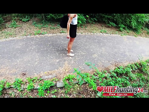 Sarah Kay gets boned in a Berlin park! I banged this MILF from milfhunting24.com!