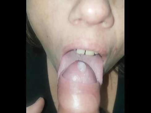 Ruined orgasm -licking the head of my cock to a ruined orgasm
