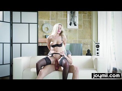 blonde submissive slut gets fucked while s.