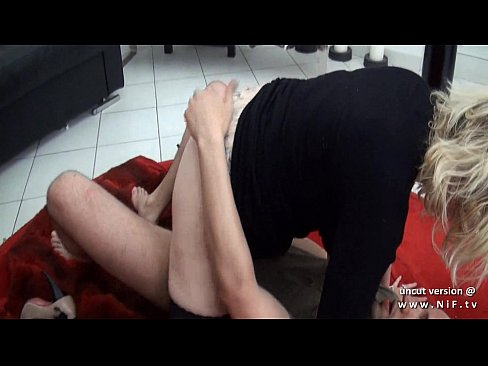 Amateur BBW squirt french mom with huge boobs hard DP and facial