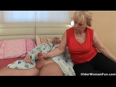 chubby grandma wants your cock and cum