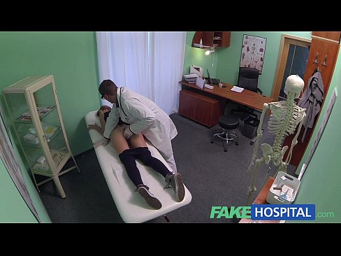 Fakehospital hot nurse join doctor and patient for threesome - 3 part 6