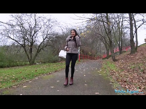 Public agent christina miller fucked by big cock in woods 6