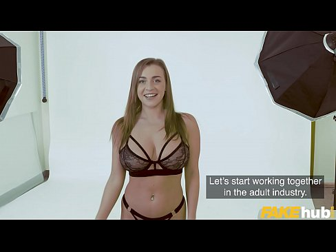 Fake Agent Josephine Jackson and her big tits casting interview