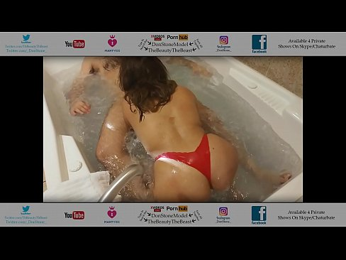 latina maid cleans las vegas room then joins me in jacuzzi sexy big juicy round ass