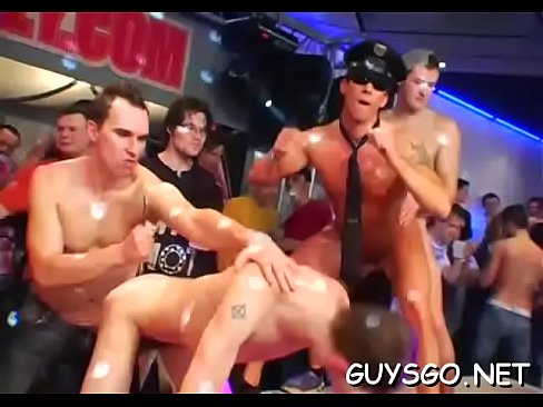 Three homosexuals and an fuckfest