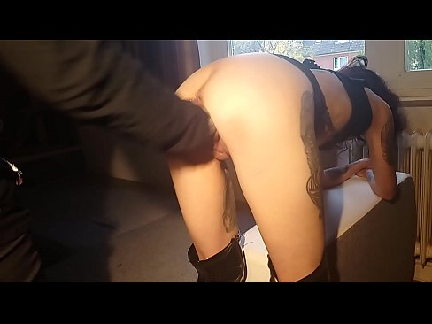 Clip sex The pussy destruction of skinny Milf whore Lucy continues