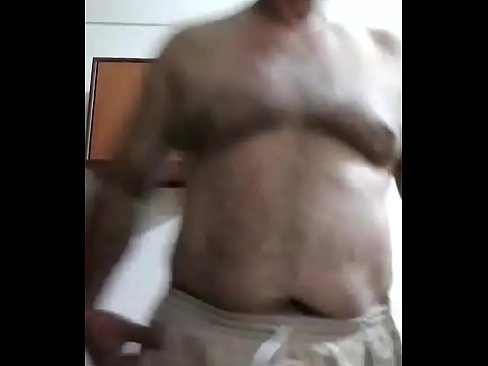 Indian dad jerking off