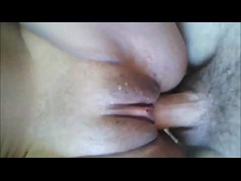 Penetrating her SHaved Pussy