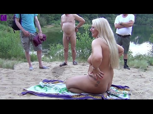 Public scandal on a bathing lake. Extremely Bukkake, Gagging Deepthroats, Mouth Pissing and Mass Mouths insermations for a Blond Girl! Chapter 2