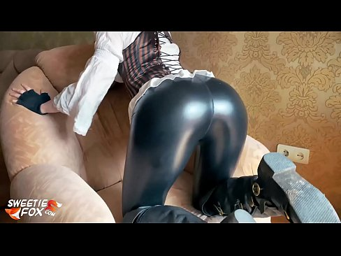 Steampunk Girl Hard Doggy Sex and Blowjob with Oral Creampie - Fox Cosplay