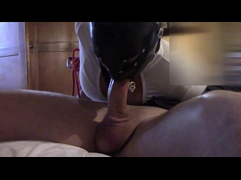 Laura XXX Hogtied in the bed and reverse blowjob