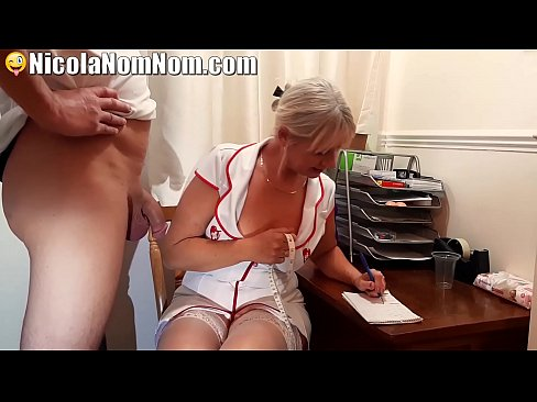 Clip sex Mature Nurse Helps Young Lad At Sperm Donor Clinic
