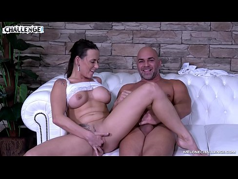 Mea Melone has Hard Boner Visitor on her Show