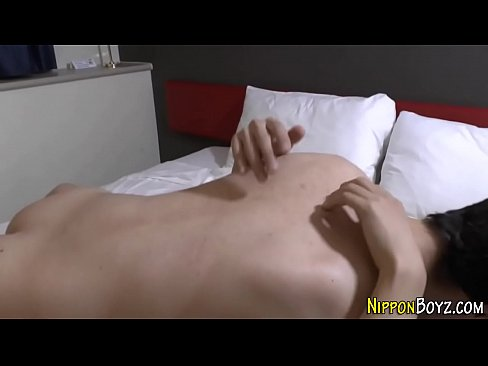 Japanese twink pounded
