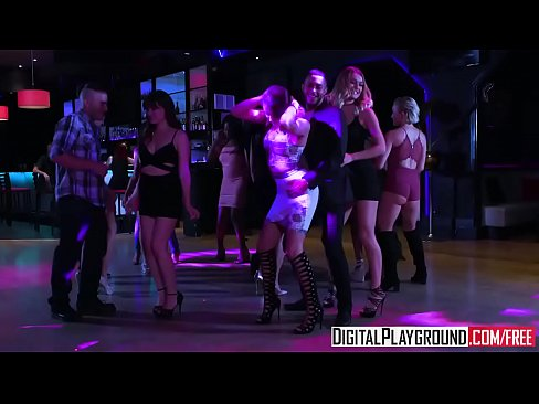 DigitalPlayground – Girls Go Clubbing Adria Rae and Natalia Starr and Tony Martinez