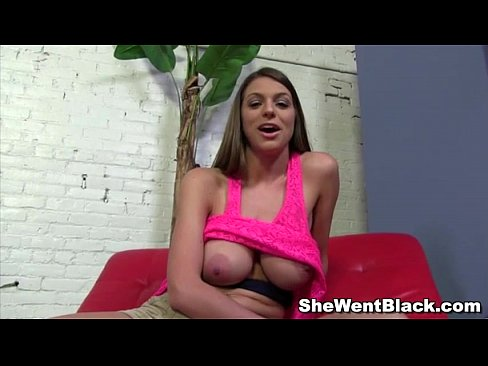 hot brunette brooklyn chase gangbanged by black men