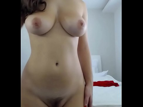 Perfect Natural Breasts Hairy Pussy