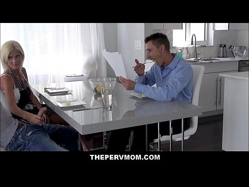 Blonde MILF Step Mom Olivia Blu Blows Step Son In Front Of His Dad's Thumb