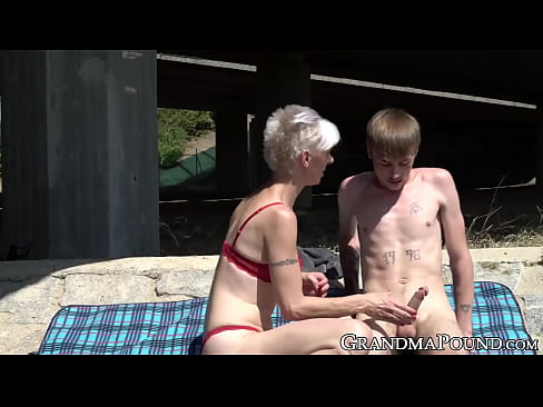 cover video pixie grandma s  wallows young cock beneath br cock beneath bri ock beneath bri