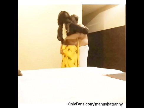 Clip sex Indian dream TS manusha's first night romance in saree with her husband..!