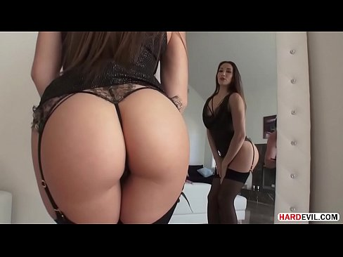 Tasty brunette has her anal pounded