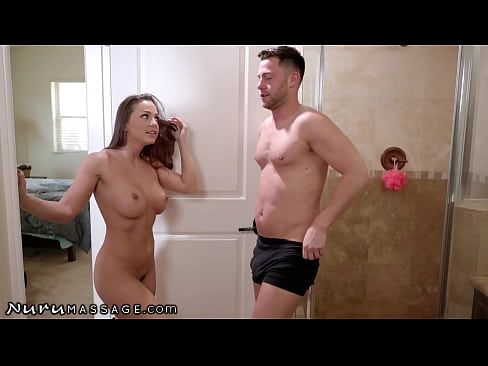 NuruMassage Abigail Mac Assures Her Stepbrother It's Only A Practice Before The Exam