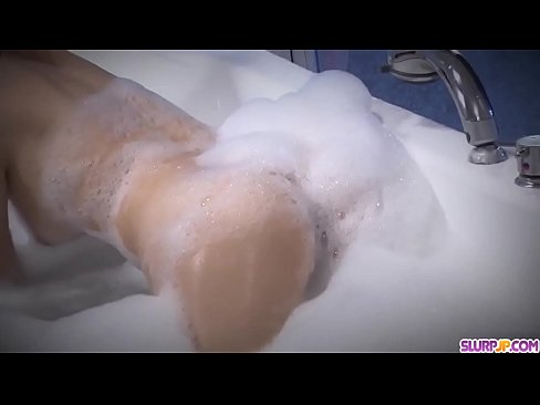 Soapy fuck play at home with tanned Miruku Ichigo - More at Slurpjp.com