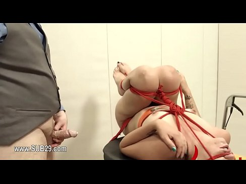 1-Extremely Hardcore BDSM Rope Copulate With Anal Action -2015-12-18-22-42-013