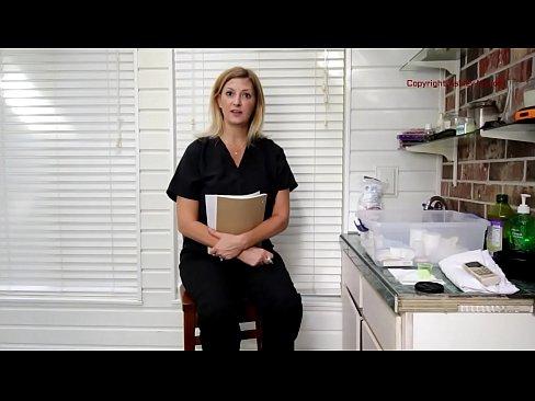 Dr. Ashley Examines Cock in her office