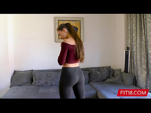 Girl With Great Yoga Ass Fucked By Fitness Casting Agent