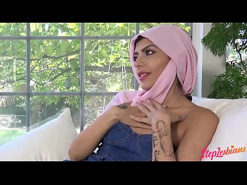 cover video Forbidden Pleas ures With My Muslim Stepsister slim Stepsister