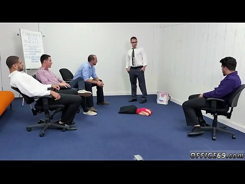 Office gay small cock img