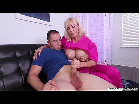 Step Mom Sperm Extraction - Big Boob Milf