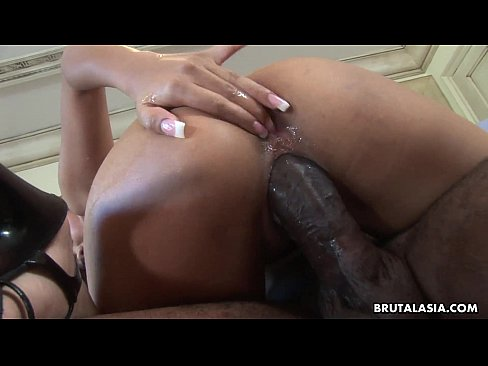 brutalasia HDVM561 hdBig black cock gets to satisfy the Asian sluts great needs