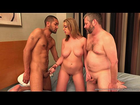 Cum Eating Cuckolds - Brooke Wylde's hubby gives her a BBC