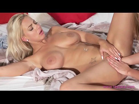 Lesbea Hot blonde gets a good fisting from her sexy brunette lesbian