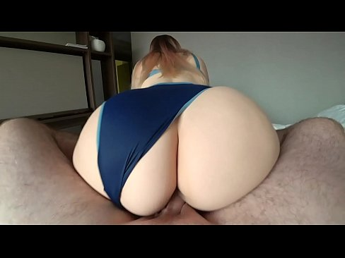 Girl with a big ass jumps on a dick