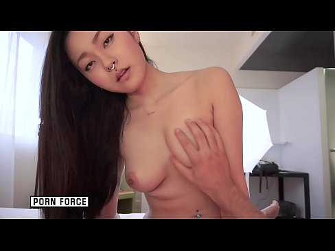 Busty Asian Teen Slut RAE LIL BLACK gets fucked hard with cum on her face