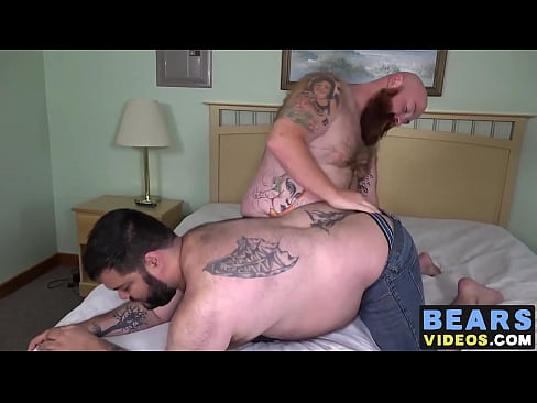 Cock hungry bear masseur