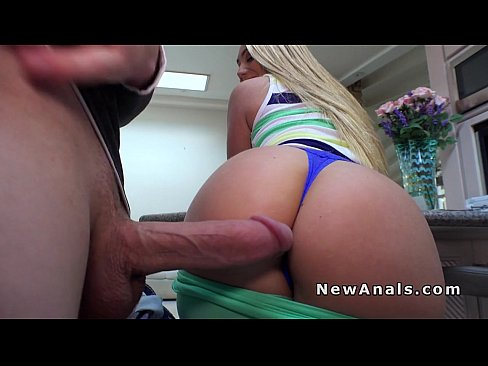 Bigass milf anally pounded in pov