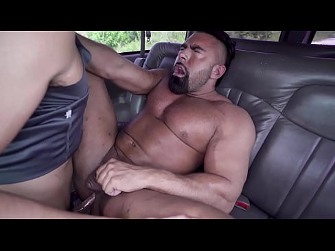 BAIT BUS - Hunk Jason Wolf Gets Baited To Fuck Steven Roman