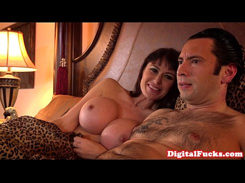 Hugetitted milf assfucked and atm deepthroat