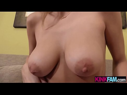 My stepsister is so fucking hot I started to film her
