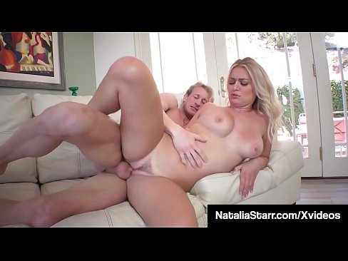 Pretty Polish Princess Natalie Starr gets a big load of hot cum all over her tight ass, after mouth fucking & pussy pounding her photographer's big cock! Full Video & Natalia Live @ NataliaStarr.com